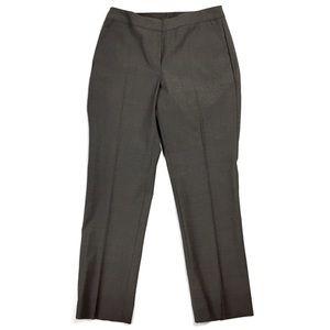 Talbots Petite Stretch Wool Heritage Slim Trouser